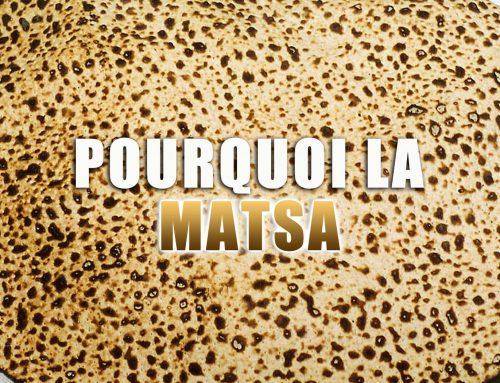 Pourquoi la Matsa