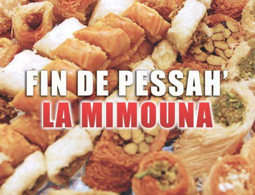 Fin de Pessah, la Mimouna