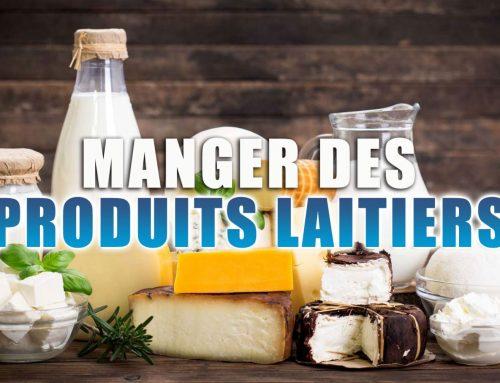 Manger des produits laitiers