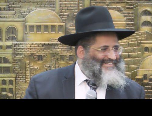 RAV ISRAEL ABERGEL 13 – Ce qui est écrit pour toi