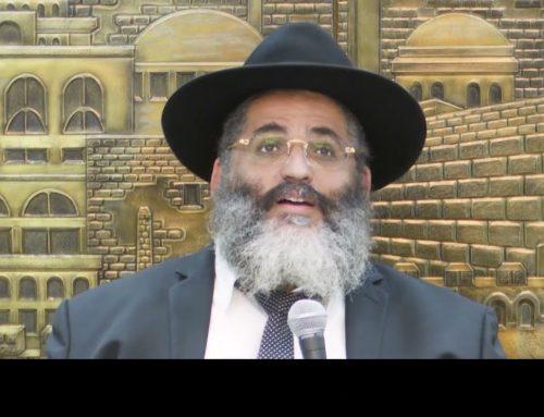 RAV ISRAEL ABERGEL 15 – Tenir face à l'épreuve et ne jamais tomber