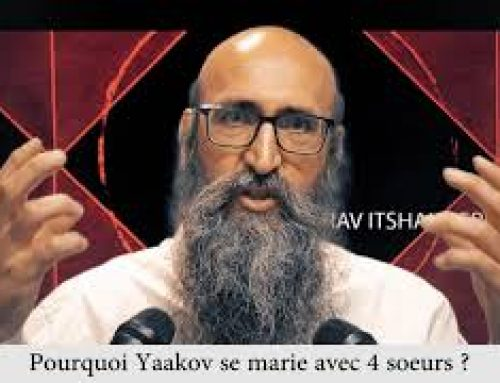 CARRE ET ROND 4 – Pourquoi Yaakov se marie avec 4 soeurs – Rav Itshak Peretz