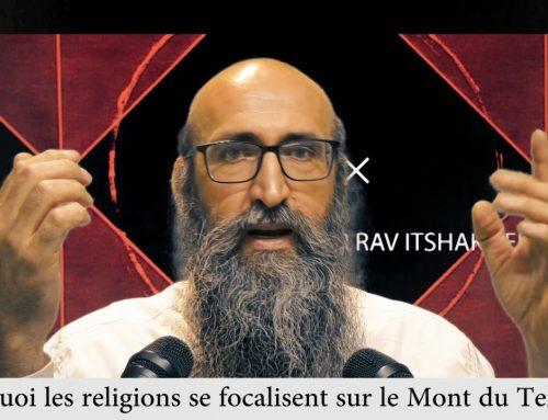 CARRE ET ROND 8 – Pourquoi les religions se focalisent sur le Mont du Temple – Rav Itshak Peretz