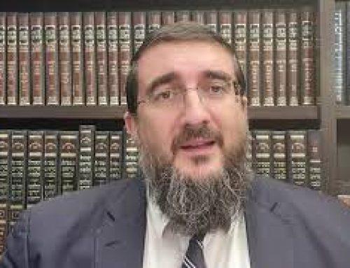 19 – RAV ARIEL BJAOUI – Dimanche 11 juillet a 21 heure, heure d'Israel