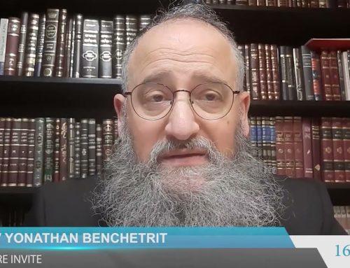 Le personnage de SARAH dans la Torah – Rav Yonthan Benchetrit