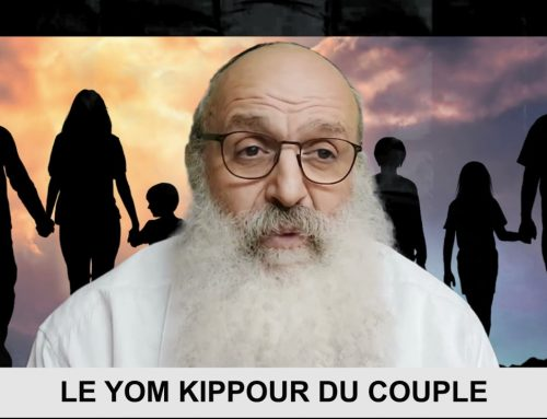 CONSTRUISONS LE NOUS 15 – Le Yom Kippour du couple – Rav Shimon Ariche